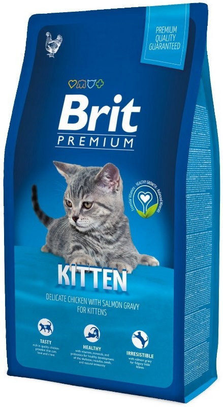 Корм для котят Brit Premium Cat Kitten 8кг