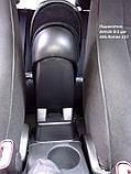 Подлокотник Armcik S1 со сдвижной крышкой для Alfa Romeo 147 2000-2010, фото 4