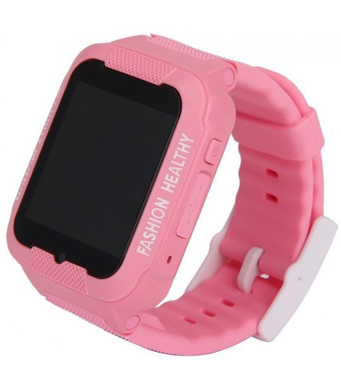 Годинник Smart Watch K3 Kids Waterproof WiFi/Gps/камера pink/white Гарантія 1 місяць