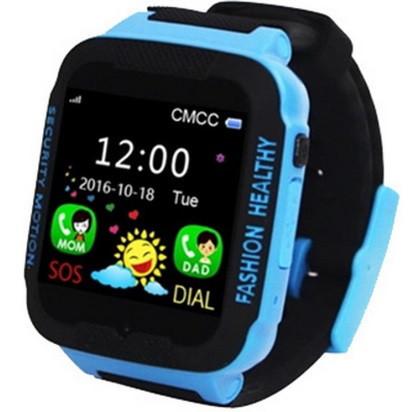 Часы Smart Watch K3 Kids Waterproof WiFi/Gps/камера black/blue Гарантия 1 месяц