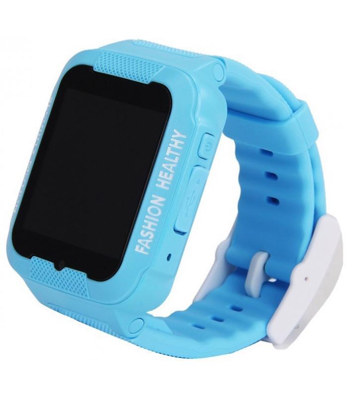 Часы Smart Watch K3 Kids WiFi/Gps/камера blue/white Гарантия 1 месяц