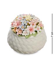 """Композиция """"Корзинка с цветами"""" Pavone 7 см"""