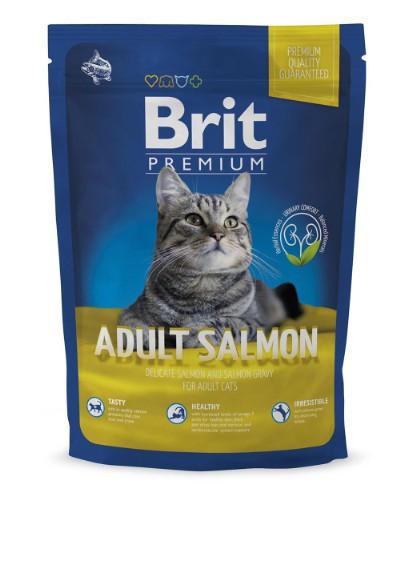 Корм для котов Brit Premium Cat Adult Salmon 1,5кг