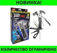 Инструмент складной Мультитул Tac Tool 18 in 1!Розница и Опт