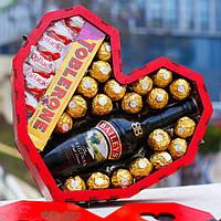 """Подарочный набор """"Baileys"""". Подарок на День Святого Валентина жене, женщине, девушке, любимой."""