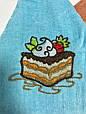 Набор 4 шт полотенец 55 см, круглое с петелькой, набір рушник для кухні, кухонное, фото 2