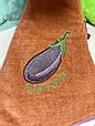 Полотенце рушник 55 см, круглое с петелькой, рушник для кухні, кухонное, фото 4