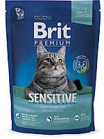 Корм для котов Brit Premium Cat Sensitive 1,5кг