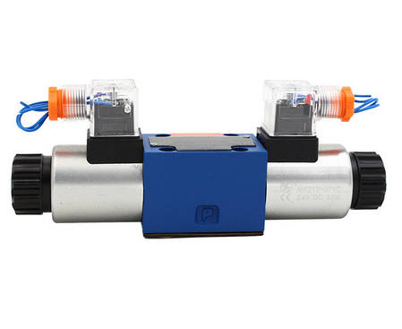 Гидрораспределитель электромагнитный  ДУ6, схема L (74), фото 2