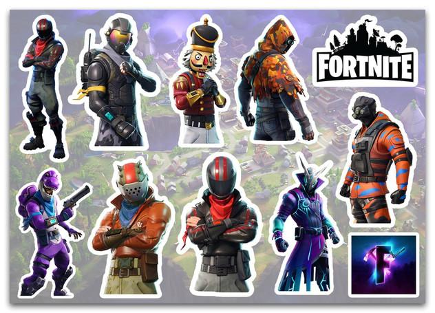 Stickers Pack Fortnite, Фортнайт #251