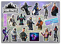 Stickers Pack Fortnite, Фортнайт #254