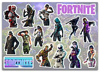 Stickers Pack Fortnite, Фортнайт #255