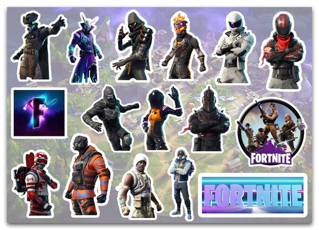 Stickers Pack Fortnite, Фортнайт #256
