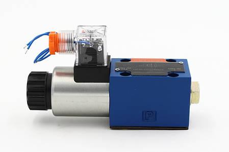 Гидрораспределитель электромагнитный  ДУ10, схема А (573), фото 2