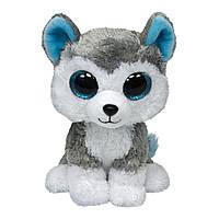 М'яка іграшка TY Beanie Boo's Хаскі Slush сірий (36902)