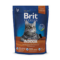 Корм для котов Brit Premium Cat Indoor 0,3кг