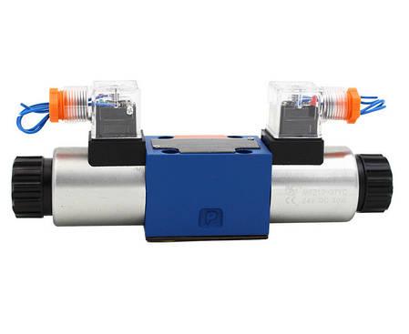 Гидрораспределитель электромагнитный  ДУ10, схема E (44), фото 2
