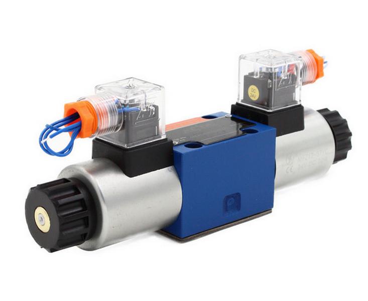 Гидрораспределитель электромагнитный  ДУ10, схема D-O