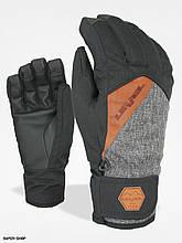 Гірськолижні рукавички чоловічі Level grove  Cruise Pk Black   розмір -10 (XXL)