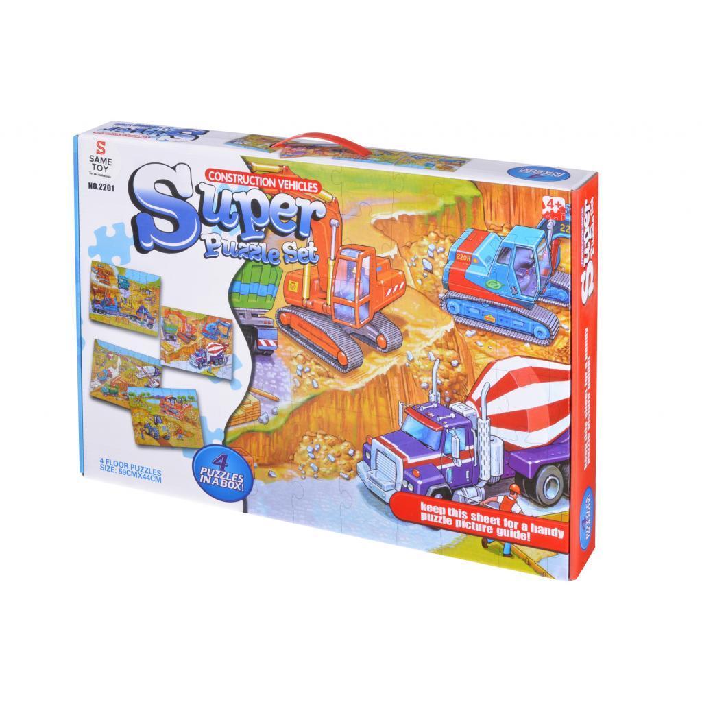 Пазл Same Toy Строительная техника (2201UT)