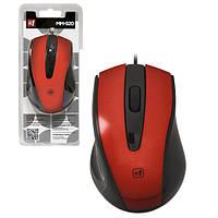Мышь Defender #1 MM-920 красная, проводная