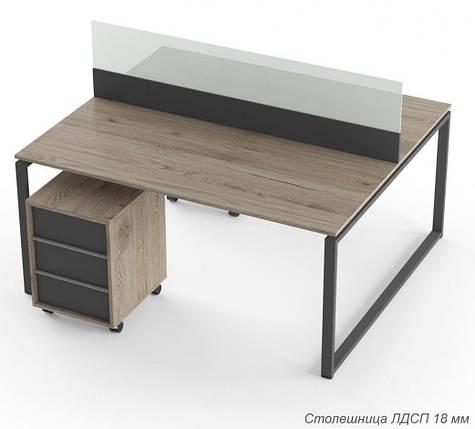 Стол на 2 рабочих места Promo Q19S, фото 2