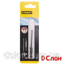 Сверло металл / древесина / пластик STANLEY STA50028:  диаметр 5,0 мм / рабочая длина 62 мм