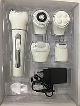 Женский аккумуляторный эпилятор для тела  Gemei GM 3072 (Реплика), фото 3
