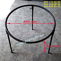 Тренога, таган костровая разборная 400 мм. казан, сковорода, фото 1