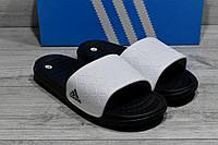 Мужские шлёпанцы, сланцы Adidas. Размер 40-45