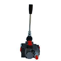 Гидрораспределитель Р40 1 секционный 40-50 л/мин (С плавающим положением и фиксацией)