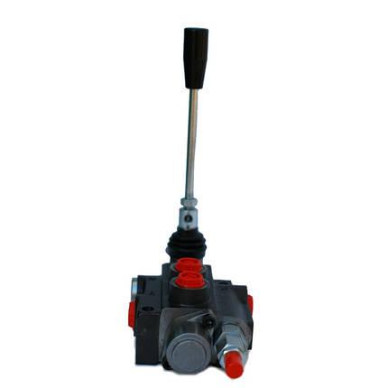Гидрораспределитель Р40 1 секционный 40-50 л/мин (С плавающим положением и автовозвратом), фото 2