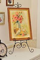 Підставка / мольберт під картину Дроти-Крученики Моне 60*25*5 см