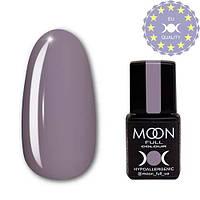 Гель-лак MOON FULL color Gel polish №153, серовато-голубой фиалковый