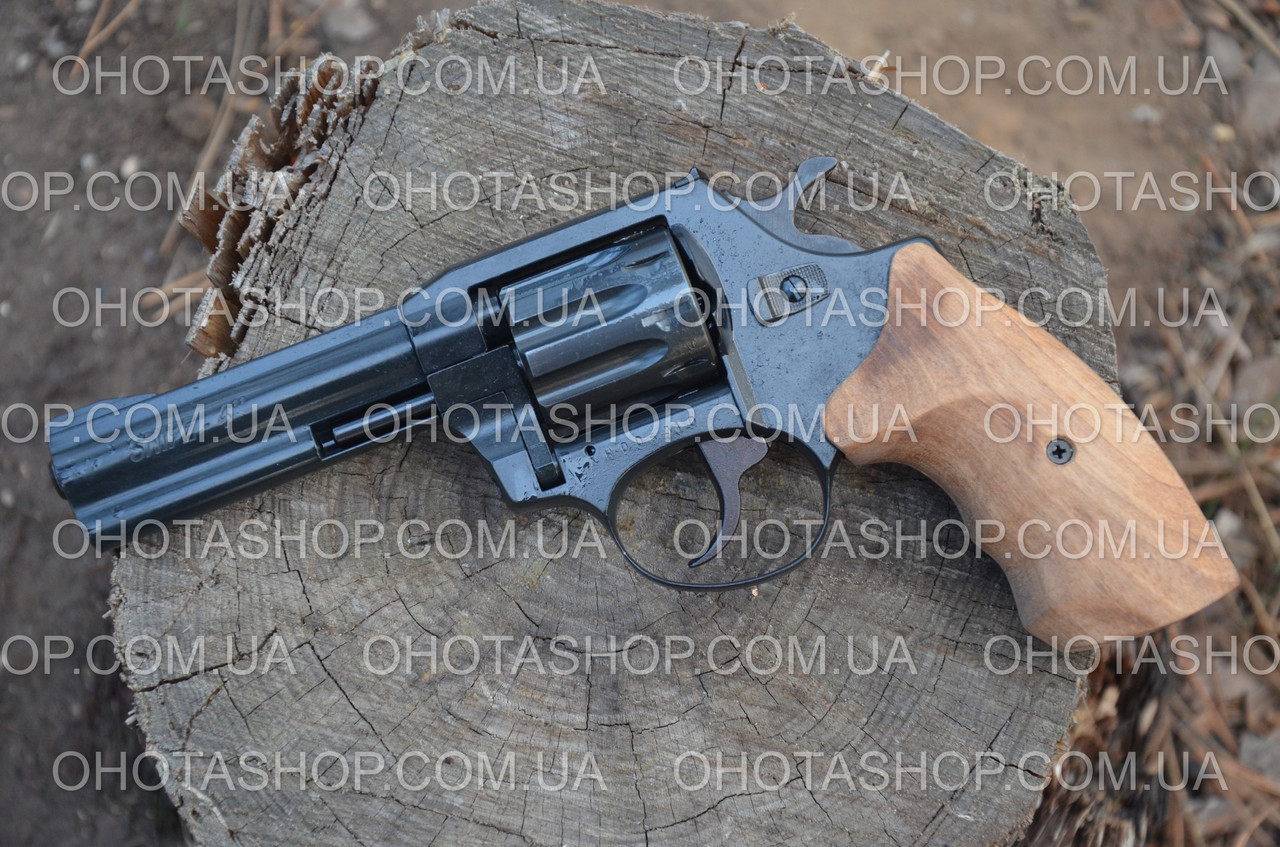 Револьвер под патрон Флобер Snipe 4 (Орех)