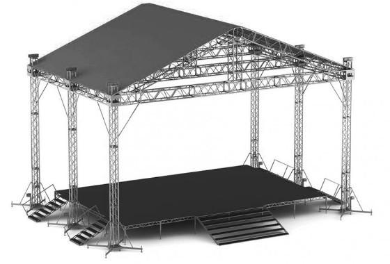 Сцени, концертні майданчики