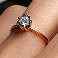 Золотое кольцо с жемчугом 1513, фото 10