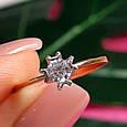 Золотое кольцо с жемчугом 1513, фото 7