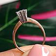Золотое кольцо с жемчугом 1513, фото 6