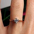 Золотое кольцо с жемчугом 1513, фото 5