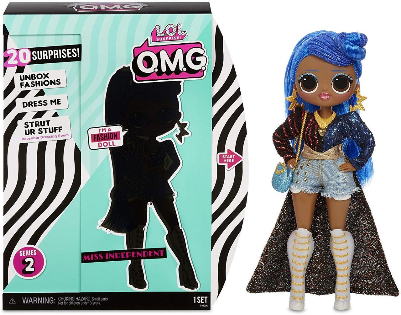 "Кукла L.O.L. Surprise! O.M.G. Miss Independent Fashion Doll with 20 Surprises серии ""O.M.G."" 2 -я волна"