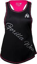 Майка жіноча Gorilla Wear Florida Top XS чорний/рожевий 9110290600