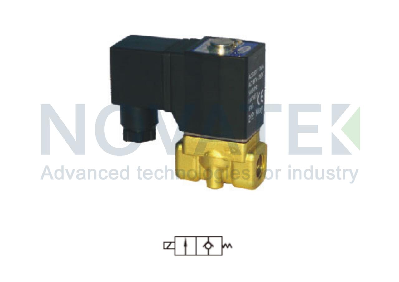Соленоидный клапан 2/2 2WT03008 24V DC AirTAC