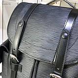 Рюкзак Луи Витон Christopher канва Monogram, кожаная реплика, фото 7