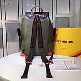 Рюкзак Луи Витон Christopher канва Monogram, кожаная реплика, фото 4