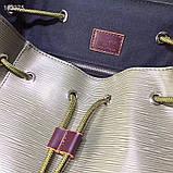 Рюкзак Луи Витон Christopher канва Monogram, кожаная реплика, фото 5