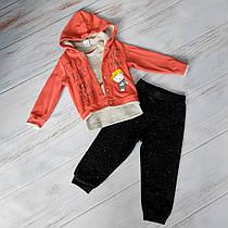 Спортивный костюм тройка для малышей 3-12 месяцев