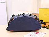 Рюкзак Луї Вітон Christopher канва Monogram, шкіряна репліка, фото 2