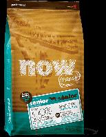 Беззерновой корм NOW Fresh Senior Large Breed Recipe Grain Free для собак крупных пород, с индейкой, уткой и лососем, 11.34 кг