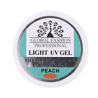Моделирующий гель для ногтей Global Fashion Bio Gel Peach 15 мл